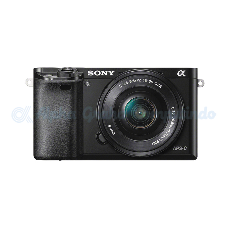 Sony  Alpha a6000 Mirrorless Digital Camera with 16-50mm Lens - Black [ILCE-6000L]