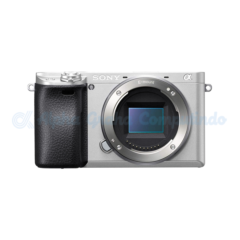 Sony   Alpha a6400 Mirrorless Digital Camera (Body Only) - Silver [ILCE-6400]