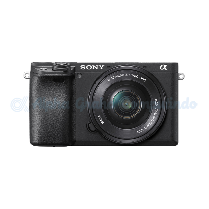 Sony  Alpha a6400 Mirrorless Digital Camera with 16-50mm Lens - Black [ILCE-6400L]