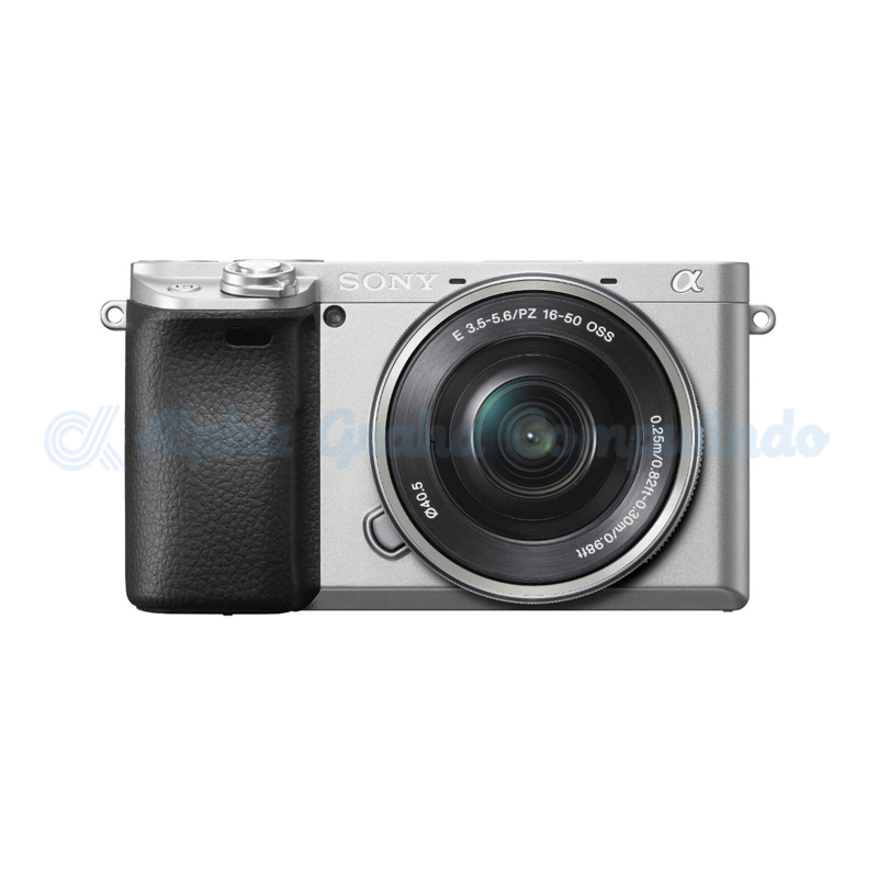 Sony   Alpha a6400 Mirrorless Digital Camera with 16-50mm Lens - Silver [ILCE-6400L]