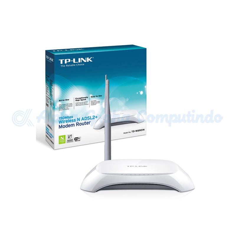TP-LINK  150Mbps Wireless N ADSL2+ Modem Router [TD-W8901N]