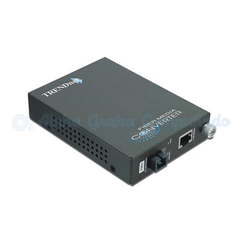 TRENDnet  Intelligent 1000Base-T to 1000Base-FX Single Mode SC Fiber Converter [TFC-1000S50]