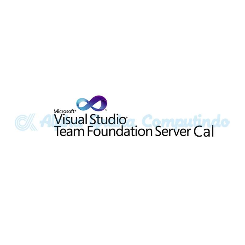 Microsoft   [Visual Studio TFS Server CAL] VSTeamFndtnSvrCAL SA OLP NL Gov UsrCAL [Pemerintah]