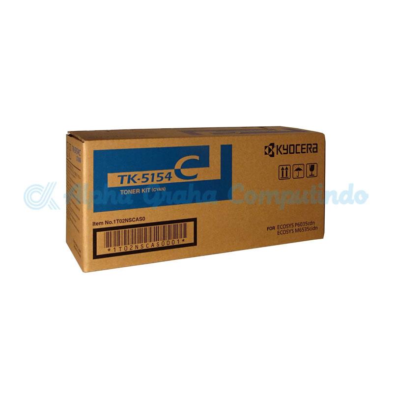 KYOCERA  Cyan Toner Cartridge [TK-5154C]