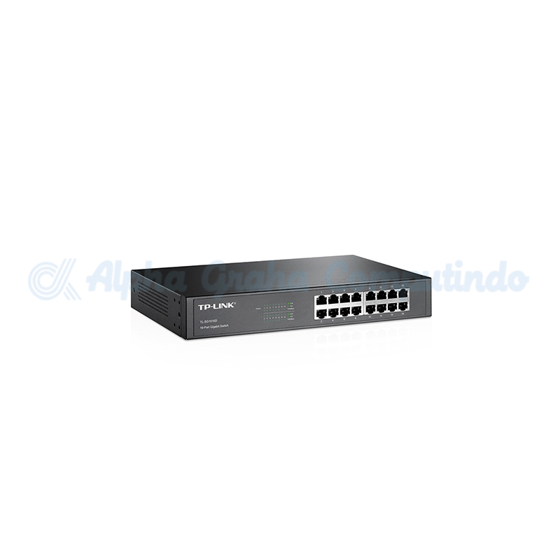 TP-LINK   16-Port Gigabit Ethernet Switch [TL-SG1016D]