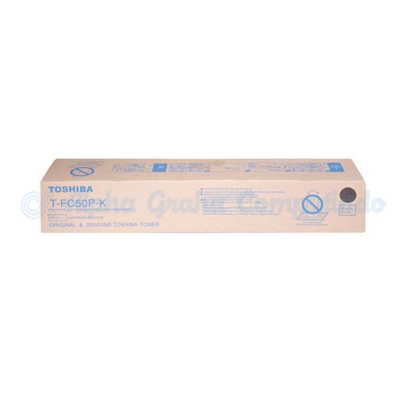 TOSHIBA Black Toner Cartridge T-FC50P-K [6AG00005344]