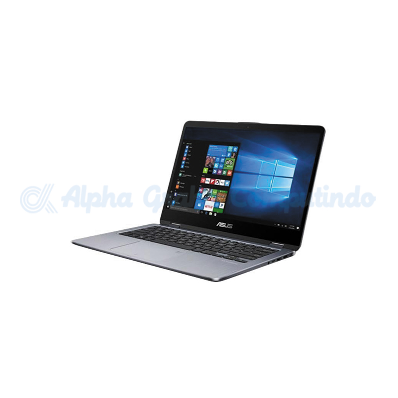 Asus    TP410UA i3 4GB 500GB [EC301T/Win10] Grey Metal