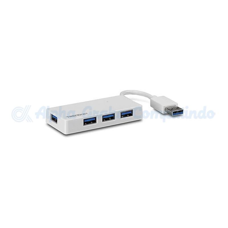 TRENDnet  4-Port USB 3.0 Mini Hub (No power adapter) [TU3-H4e]