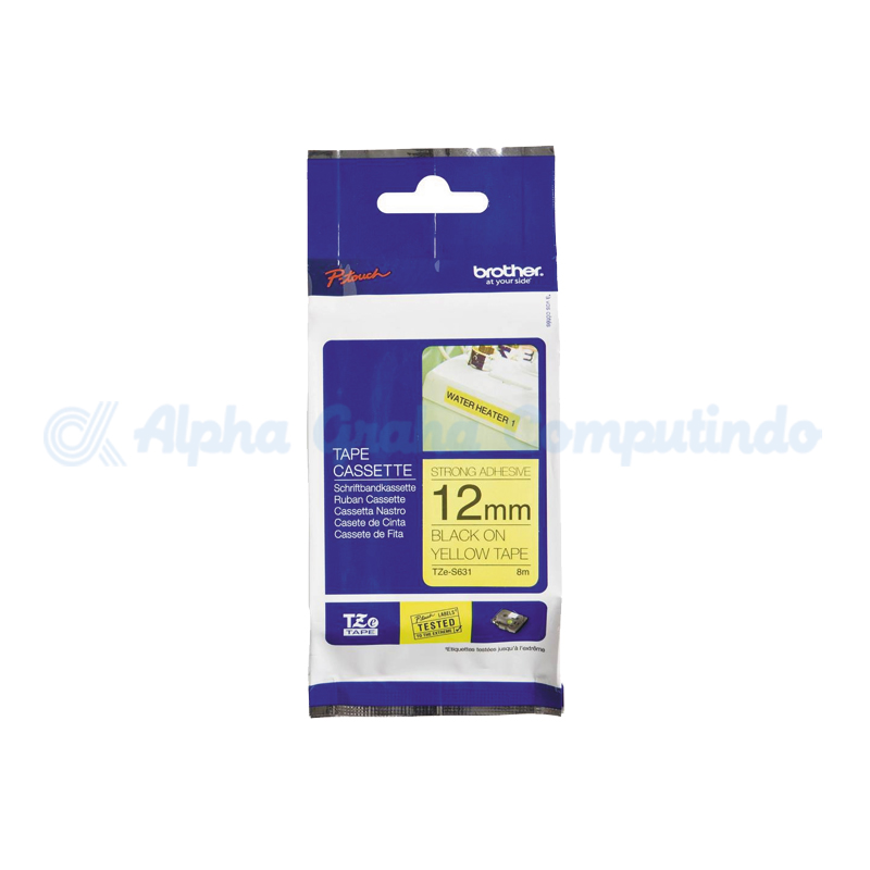 TZ C31 tape black//flu/' yellow BROTHER P-TOUCH label printers 1-36x 12mm TZE C31