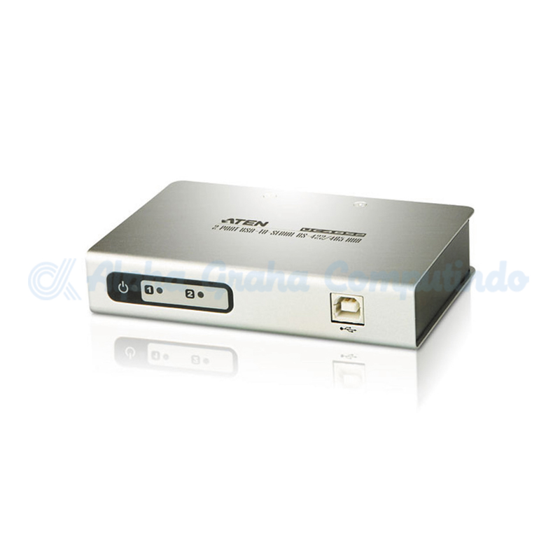 ATEN   2-Port USB-to-Serial RS-422/485 Converter [UC-4852-AT]