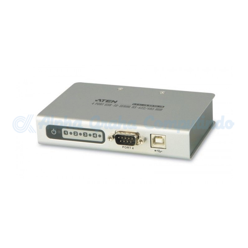 ATEN  4-Port USB-to-Serial RS-422/485 Converter [UC-4854-AT]