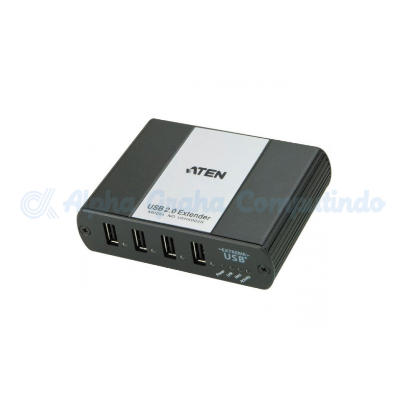 ATEN  4-Port USB 2.0 Extender Hub over Cat5 100m) [UEH4002-AT-G]