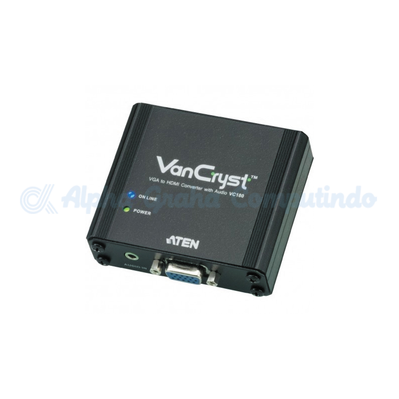 ATEN  VGA to HDMI Converter with Audio. [VC180-AT-G]