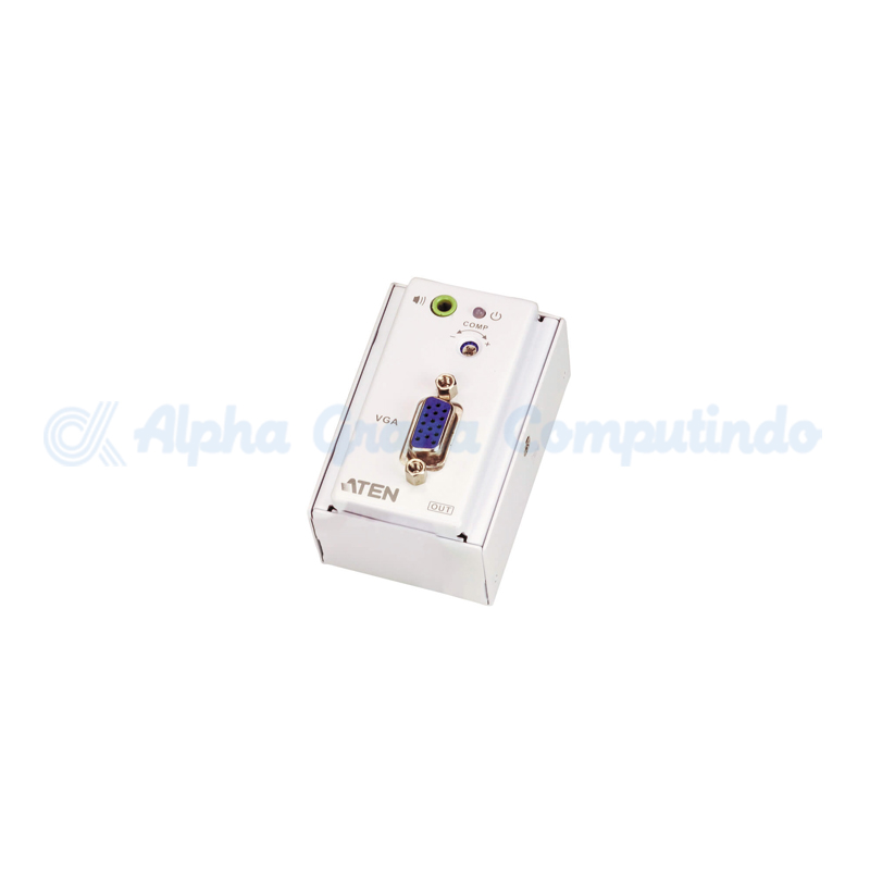ATEN  VGA/Audio Cat 5 Extender with MK Wall Plate (1280 x 1024 @150 m) [VE157]