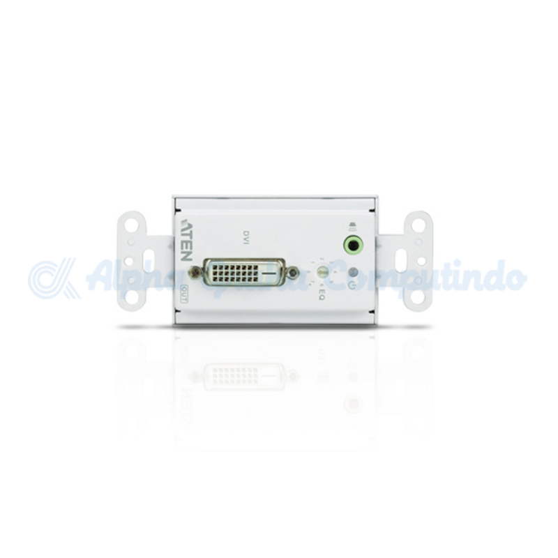 ATEN  DVI/Audio Cat 5 Extender Wall Plate (US) (1920 x 1200@40m) [VE606]