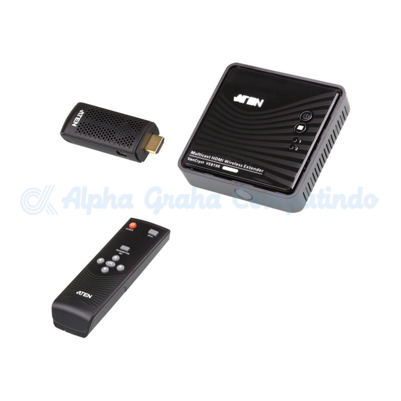 ATEN HDMI Dongle Wireless Extender (1080p@10m) [VE819-AT-G]