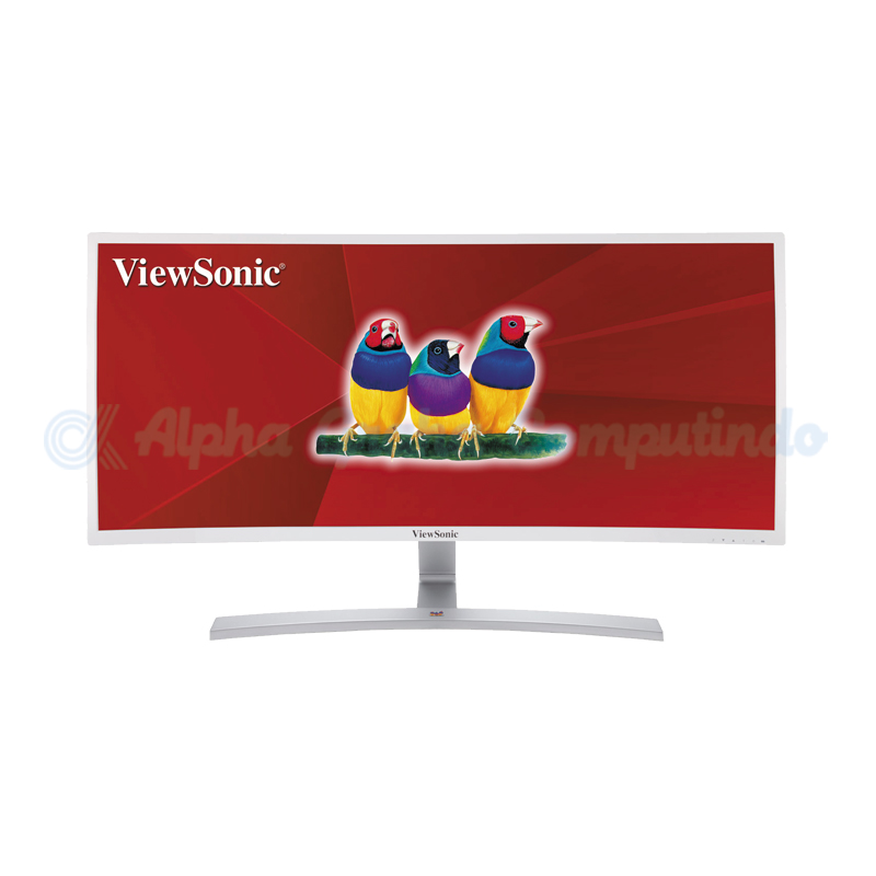 VIEWSONIC   35 21:9 Ultra-Wide Curved Monitor Featuring DisplayPort [VX3515-C-HD]