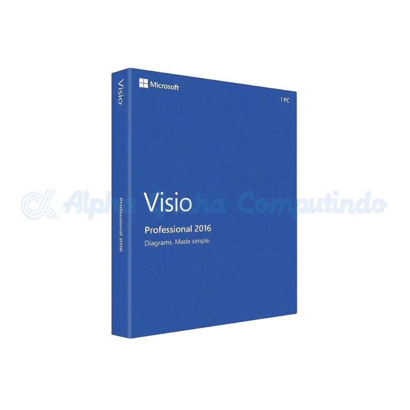 Microsoft Visio Pro 2016 [D87-07101]