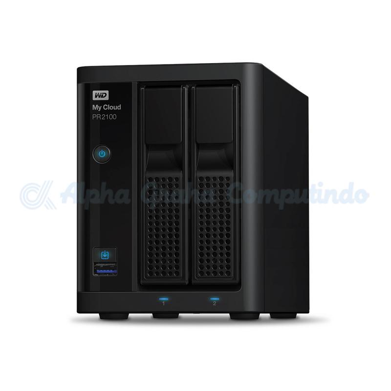 WD   My Cloud Pro PR2100 16TB [WDBBCL0160JBK-NESN]