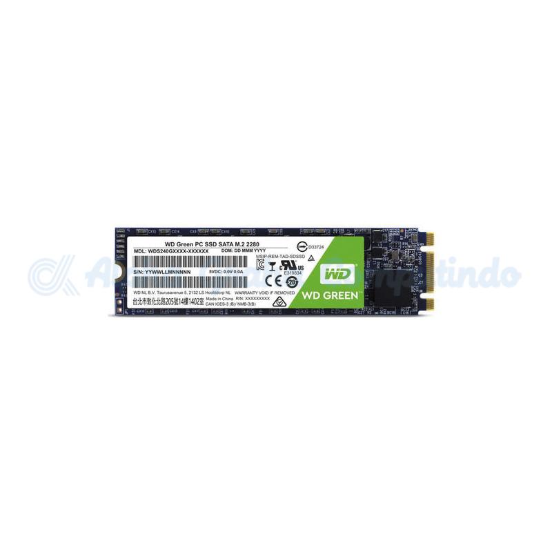 WD  Green PC M.2 SSD 120GB [WDS120G2G0B]