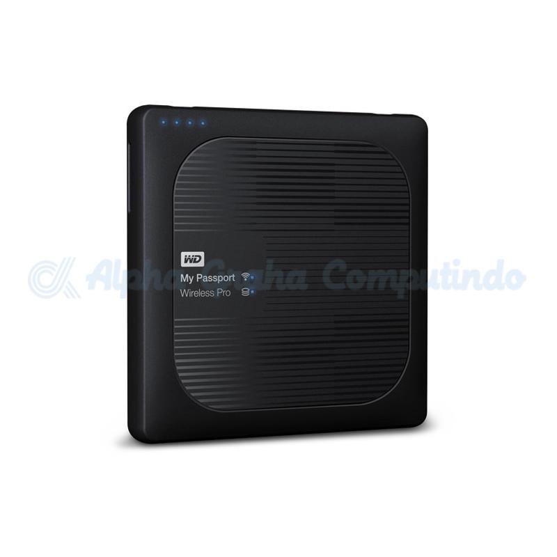 WiFi USB 3.0 WD 4TB My Passport Wireless Pro Portable HD WDBSMT0040BBK-NESN