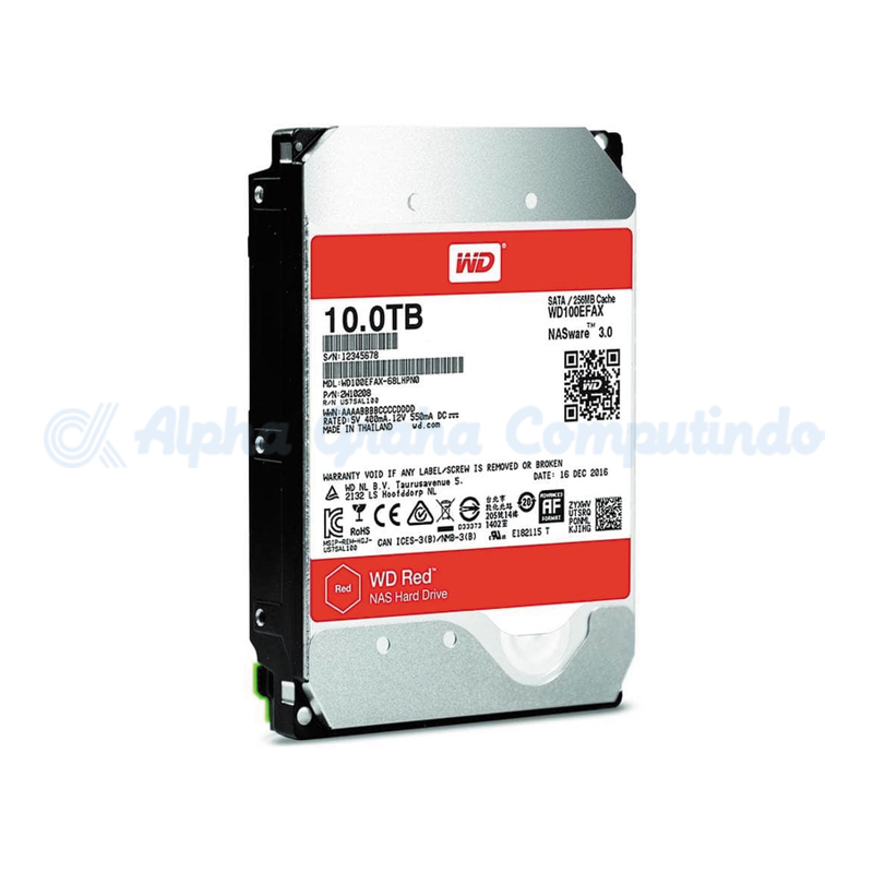 Western Digital  Red 10 TB [WD100EFAX]