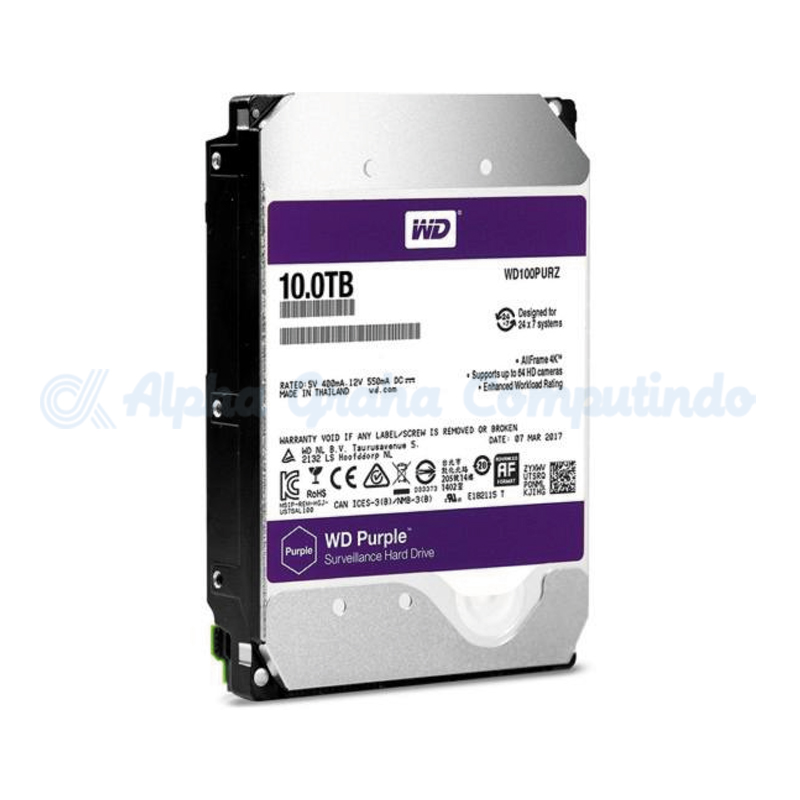Western Digital Purple 10 TB [WD100PURZ]