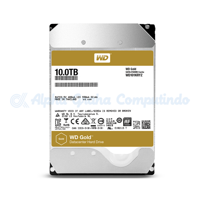 Western Digital  Gold 10 TB [WD101KRYZ]