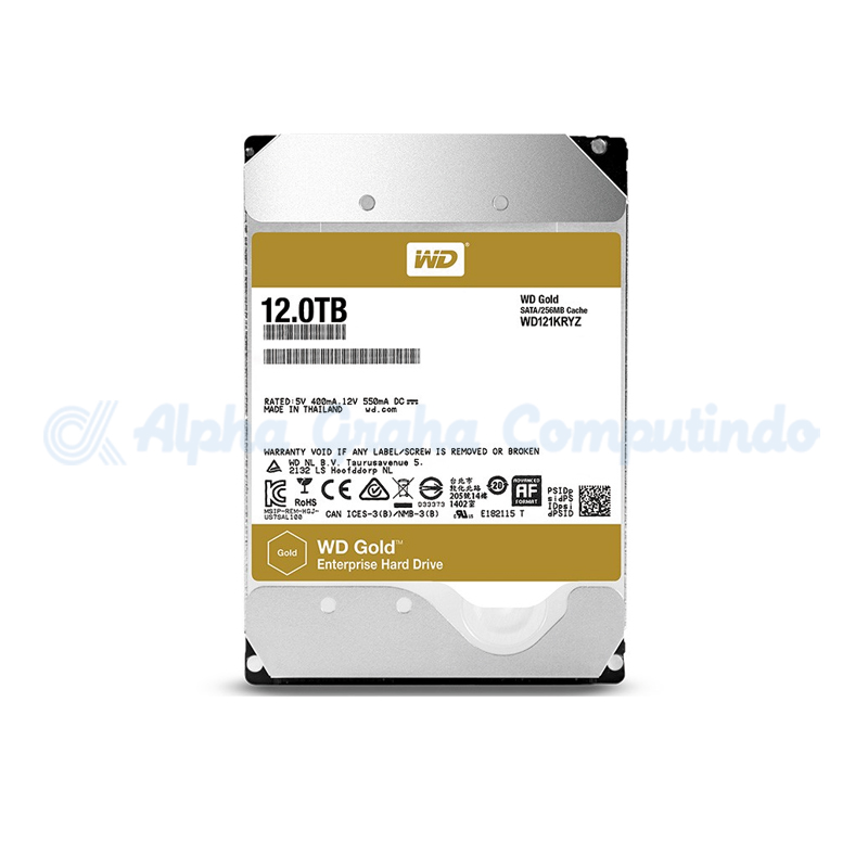 Western Digital  Gold 12 TB [WD121KRYZ]