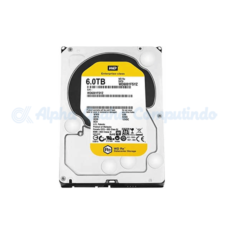 Western Digital  Gold 6 TB [WD6002FRYZ]