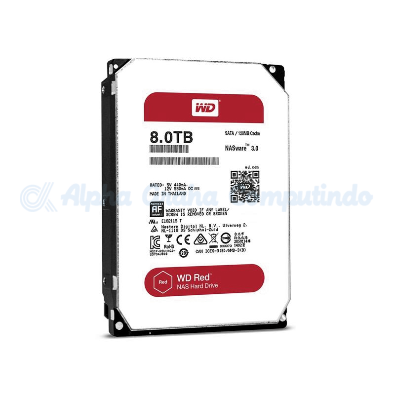 Western Digital   Red 8 TB [WD80EFZX]