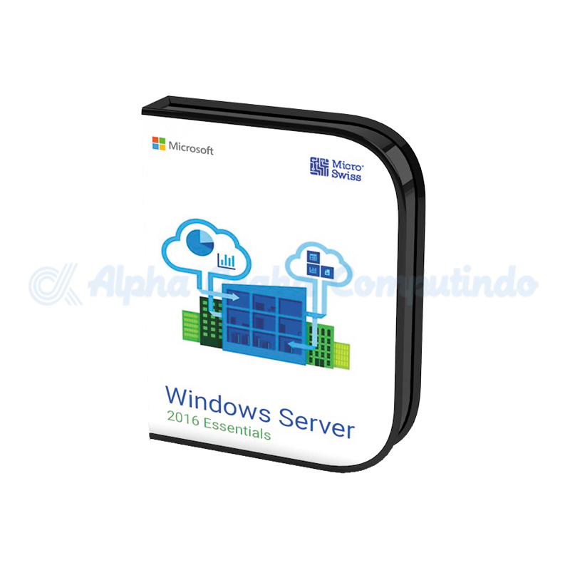 Microsoft Windows Server Essentials 2016 64Bit [G3S-01045]