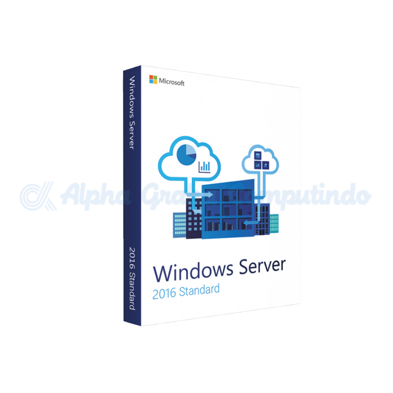 Microsoft Windows Server Standard 2016 64Bit 16 Core [P73-07113]
