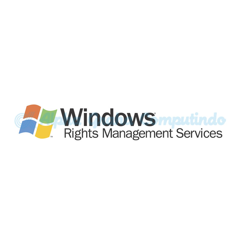 Microsoft [Windows Rights Mgmt Services CAL] WinRghtsMgmtSrvcsCAL WinNT SA OLP NL Gov UsrCAL [Pemerintah]