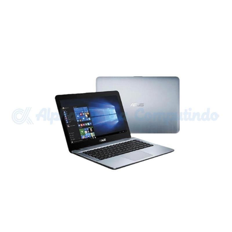 Asus    X441NA N3350 4GB 500GB Win 10 [BX402T/Win10] Silver