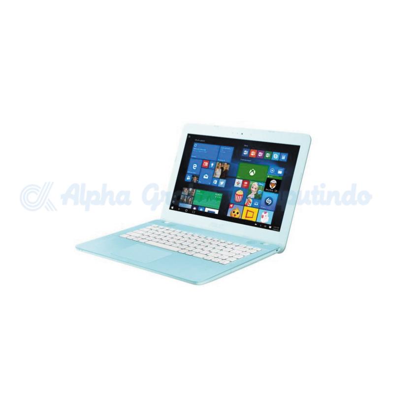 Asus    X441NA N3350 4GB 500GB Win 10 [BX405T/Win10] Aqua Blue