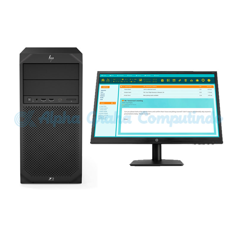 HP  Z2 Tower G4 (i5 8500 6c, 8GB DDR4, 1TB HDD, N223v 21.5