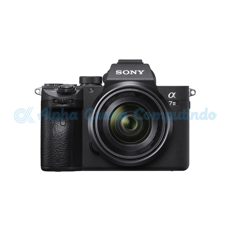 Sony  Alpha a7 Mark III Mirrorless Digital Camera with Sony FE 50mm F1.8 Lens [ILCE-7M3/BC]
