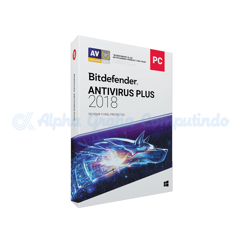 BITDEFENDER Antivirus Plus 2018 1 year ( 1 - 9 User )