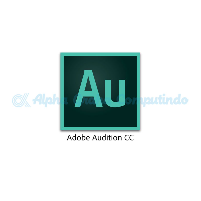 Adobe  Adobe Audition CC for teams Multiple Platforms - 1 Year Subscription Level 1-GOV [65297749BC01A12]