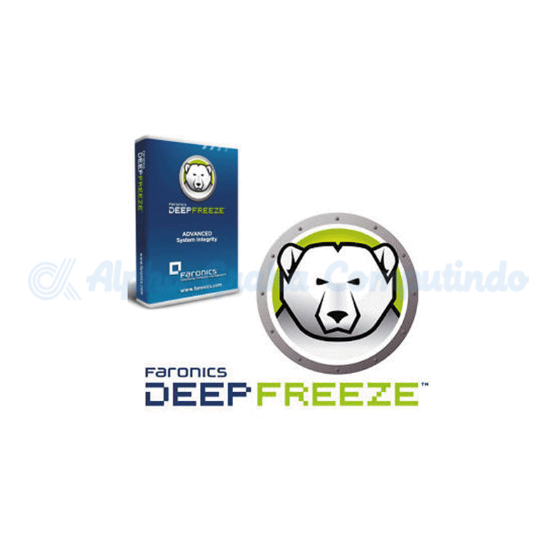 Faronics  Deep Freeze Server Enterprise Lisensi Perpetual Single Node + Pemeliharaan (Updates) 1 Tahun